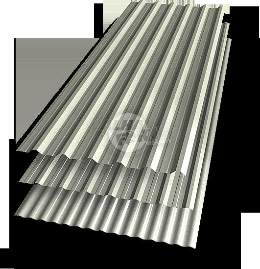 Telha de Aço Galvanizada - Calha Forte