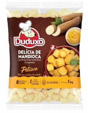 Delícia de Mandioca tipo Petisco 1 kg - Duduxo