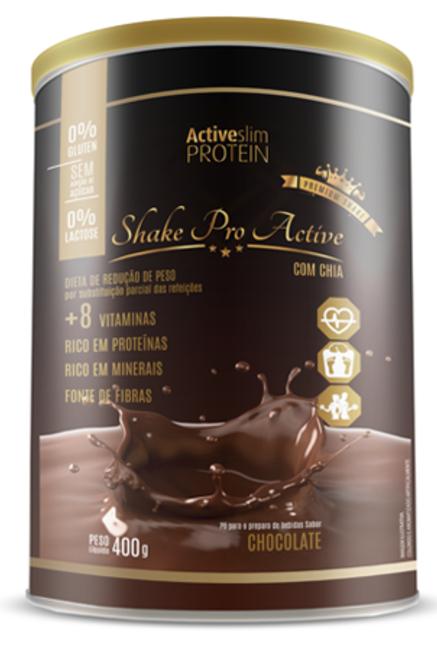 Shake Pro Active PREMIUM – Chocolate - ActiveSlim Protein
