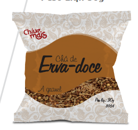 CHÁ DE ERVA - DOCE A GRANEL - Chá Mais