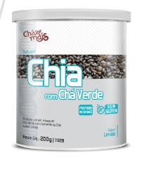 CHIA COM CHÁ VERDE - Chá Mais
