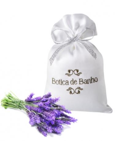 Sachet Perfumado Cetim Lavanda Normance Botica de Banho 30g - Botica de Banho
