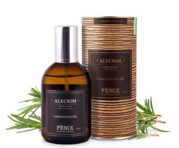 Home Spray Alecrim 100ml - Incenso Fênix