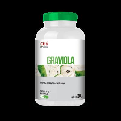Graviola - Chá Mais - 60 Cápsulas 30g