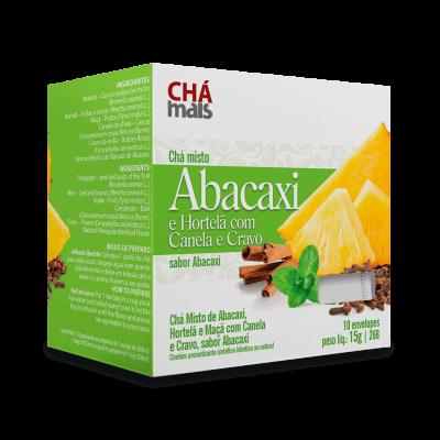 Chá misto abacaxi e hortelã com canela e cravo sabor abacaxi - 10 sachês - 15g