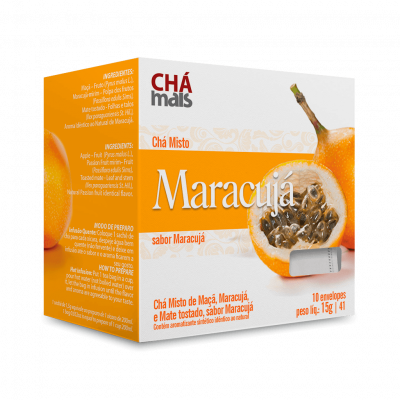 Chá de Maracujá 10 sachês 15g