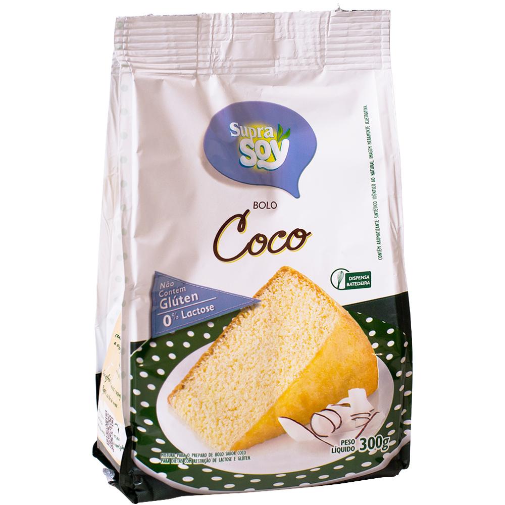 Mistura para bolo de Côco - SupraSoy