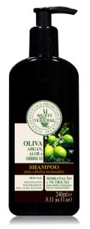 SHAMPOO DE OLIVA COM ARGAN MULTI VEGETAL 240ML - Multi Vegetal