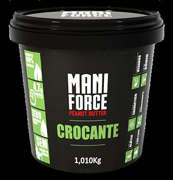 Pasta de Amendoim Crocante - Maniforce