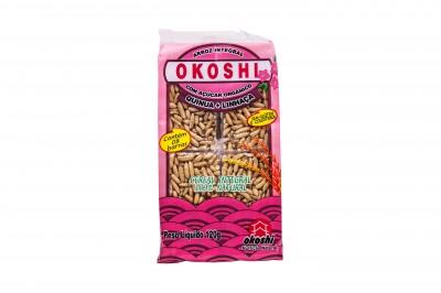 Barra de Arroz Integra com Açúcar Orgânico sabor Quinoa com Linhaça