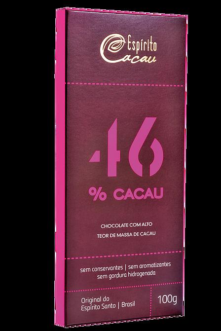 CHOCOLATE COM 46% DE CACAU - Espírito Cacau