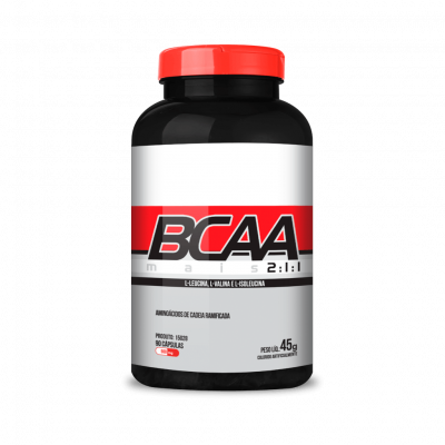 BCAA 90 caps 45g- Chá Mais