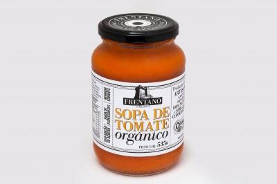 Sopa de Tomate Orgânico