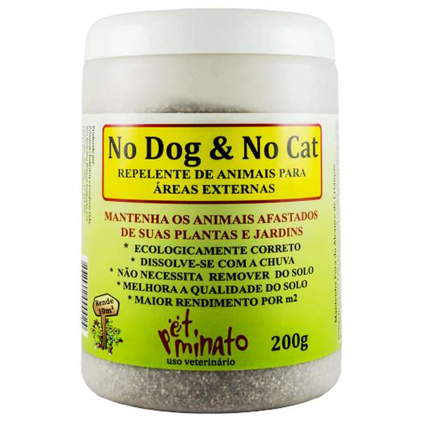 Repelente de Animais Pet Minato No Dog & No Cat Granulado - 200 g