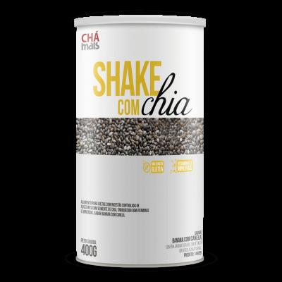 Shake com chia sabor banana com canela 400g