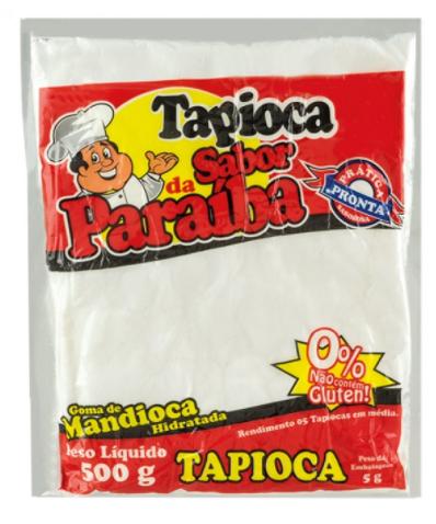 Tapioca - 500g - Sabor da Paraíba