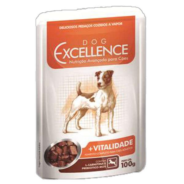 Ração Selecta Excellence Dog Sache +Vitalidade - 100 g
