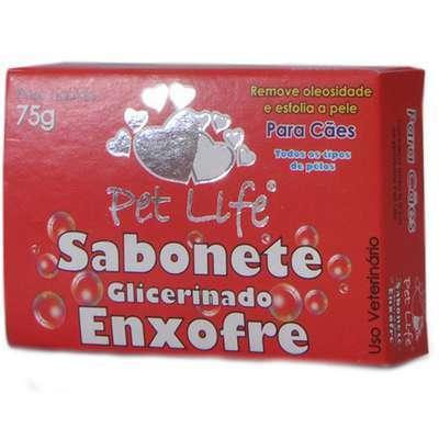 Sabonete Pet Life Enxofre - 75gr