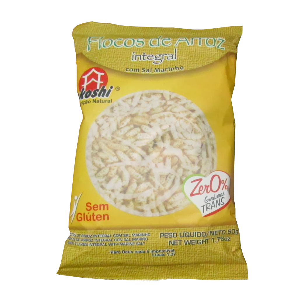 Flocos de Arroz Integral - Okoshi