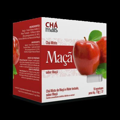 Chá Maça - Chá Mais - 10 Sachês 15g