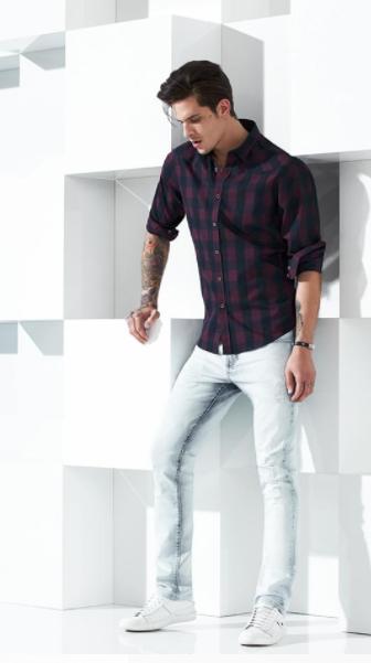 Camisa Xadrez - Acostamento