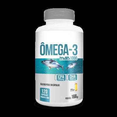 Capsula omega-3 mais 1000 120 caps 168g
