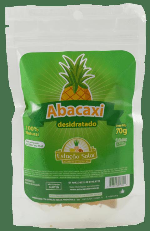 Abacaxi desidratado - 70g - Estação Solar