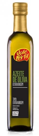 AZEITE DE OLIVA EXTRA VIRGEM VIDRO - 500ML - Vale Fértil