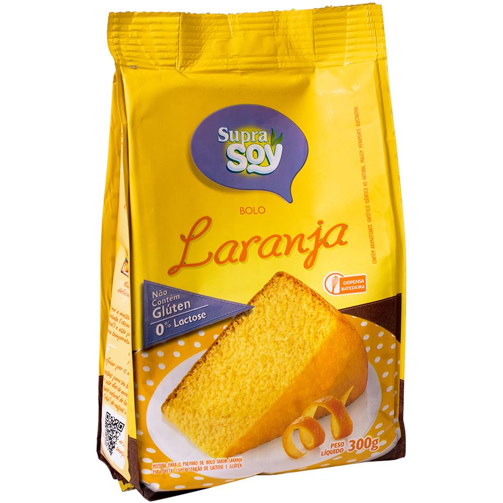 Mistura para bolo de Laranja - SupraSoy