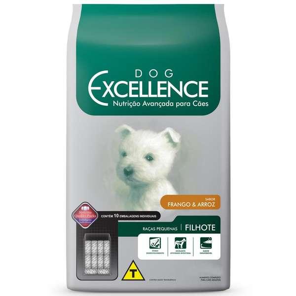Ração Selecta Dog Excellence para Cães Filhotes de Raças Pequenas Frango e Arroz - 1 Kg