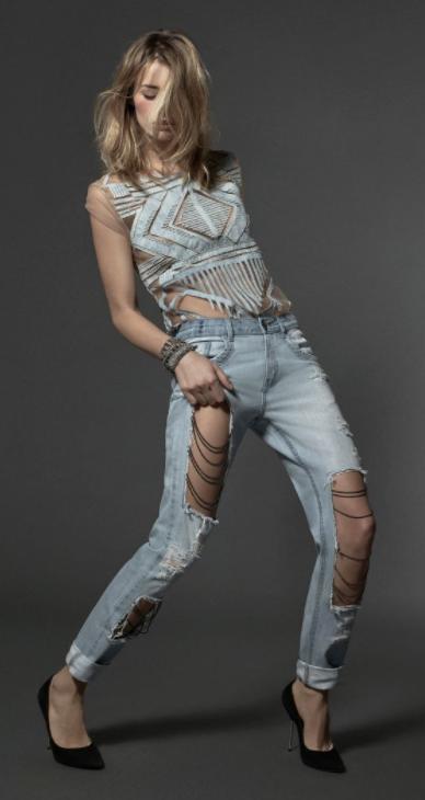 Calça Jeans Rasgada - Innocenti Jeans